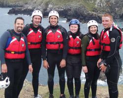 Team Coasteering Activity