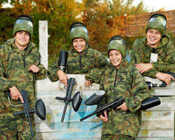 Team Paintball Activity