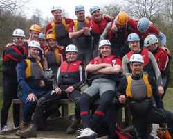 Team Raft Building Activity