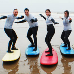 Team Surfing Activity